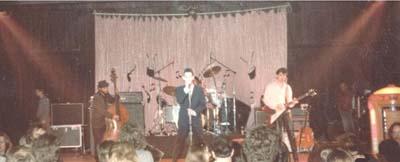 Rockabilly Star Robert Gordon. Photo Mike Lynam 1979