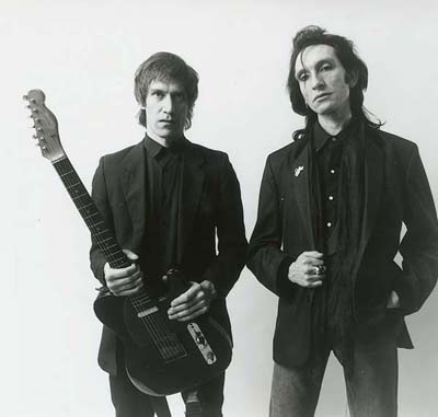 Steve Hooker and Wilko Johnson. Photo Studio 2000 1988.