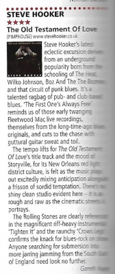 Rock n Roll UK Magazine review - Old Testament